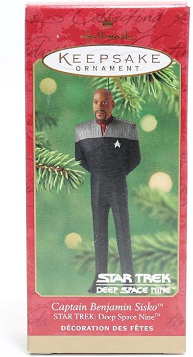 Hallmark Keepsake Ornament Star Trek DS9 Captain Benjamin Sisko 2001