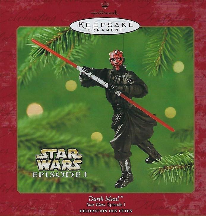 Hallmark Keepsake Ornament Star Wars Episode I Darth Maul 2000