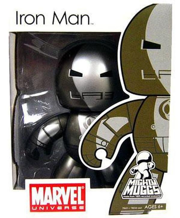 Hasbro Marvel Mighty Muggs Series 5 Figure Prototype Armor Iron Man