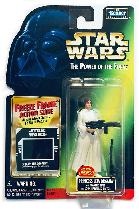 Hasbro Star Wars POTF Freeze Frame Princess Leia Action Figure