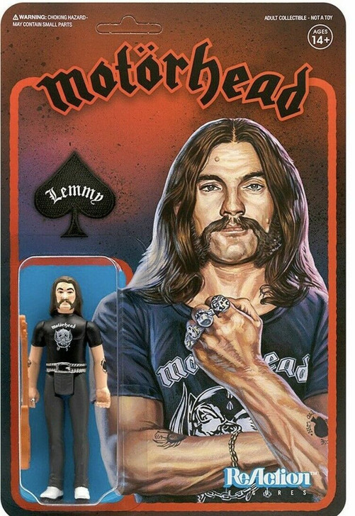 Super7 Motorhead Lemmy 3.75'' ReAction Figure