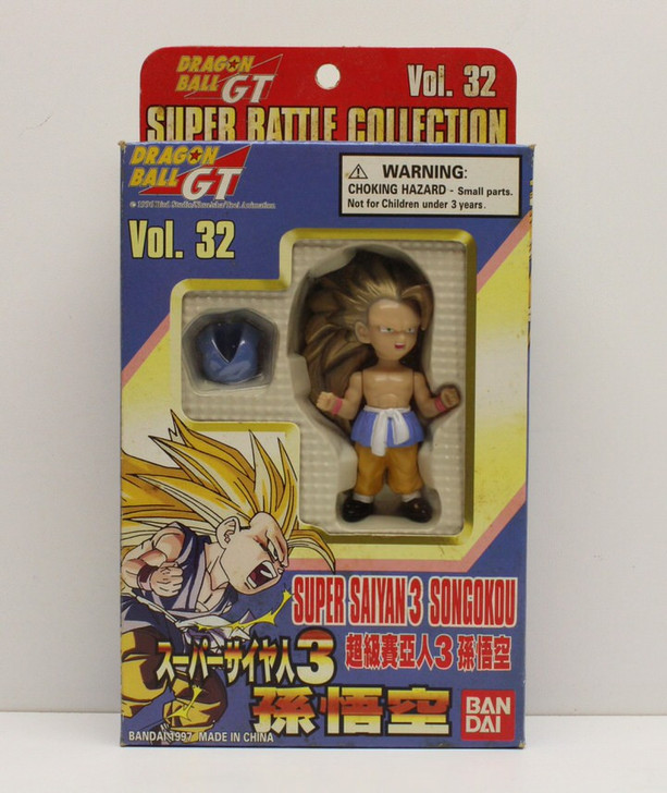 Bandai Dragon Ball Z Super Saiyan 3 Songokou Vol 32 action figure