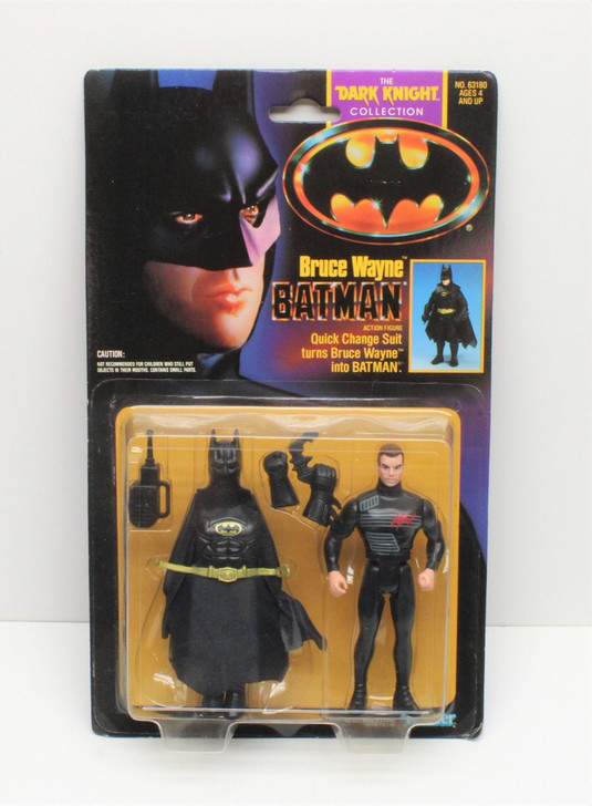 Kenner Batman The Dark Knight Collection Bruce Wayne Action Figure