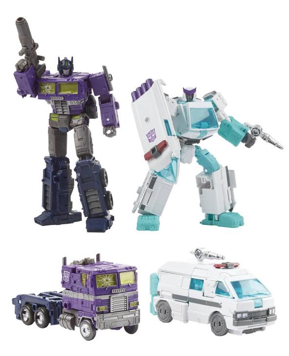 Hasbro Transformers Shattered Glass Optimus Prime & Ratchet 2 Pack
