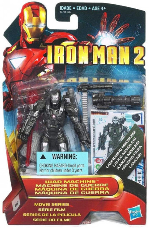 Hasbro Iron Man 2 Movie Figure War Machine