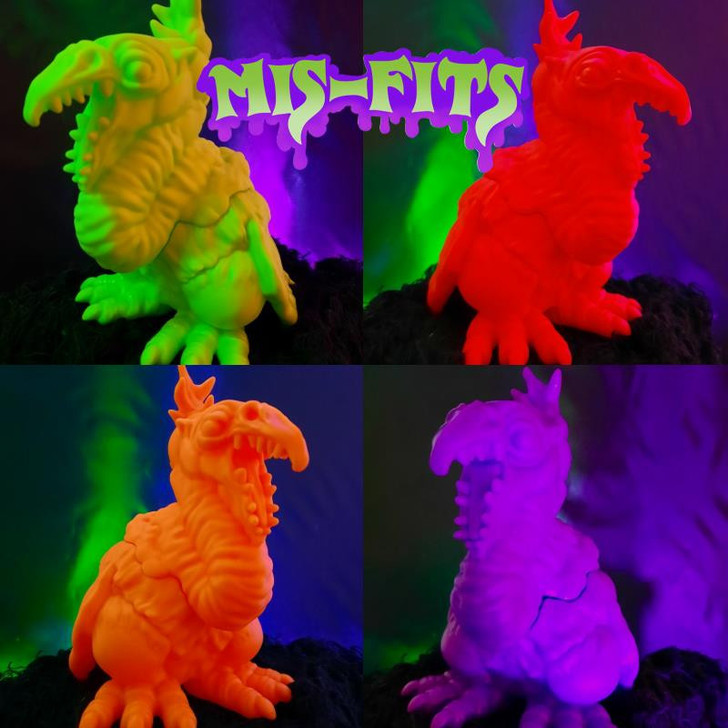 H.O.P. Toys MIS-FITS Giant Claw 4'' figure