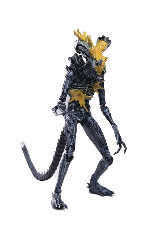 Hiya ALIENS Headshot  Alien Warrior 1/18th scale Action Figure