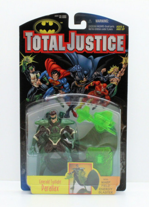 Kenner Total Justice Emerald Twilight Parallax Action Figure