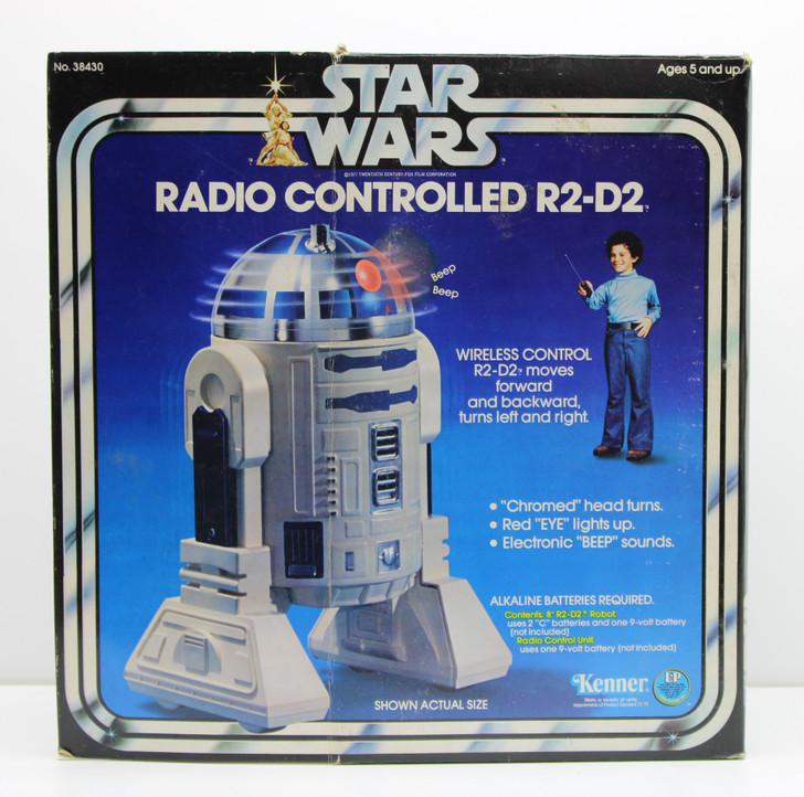 Kenner 1978 Star Wars Radio Controlled R2-D2