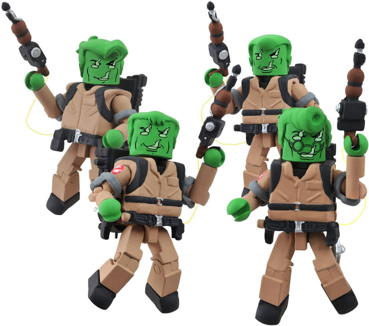 Diamond Select MiniMates Spectral Ghostbusters Box Set