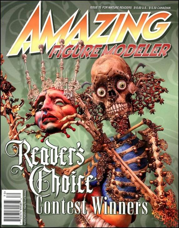 Amazing Figure Modeler AFM Magazine Issue #70 FREE SHIP