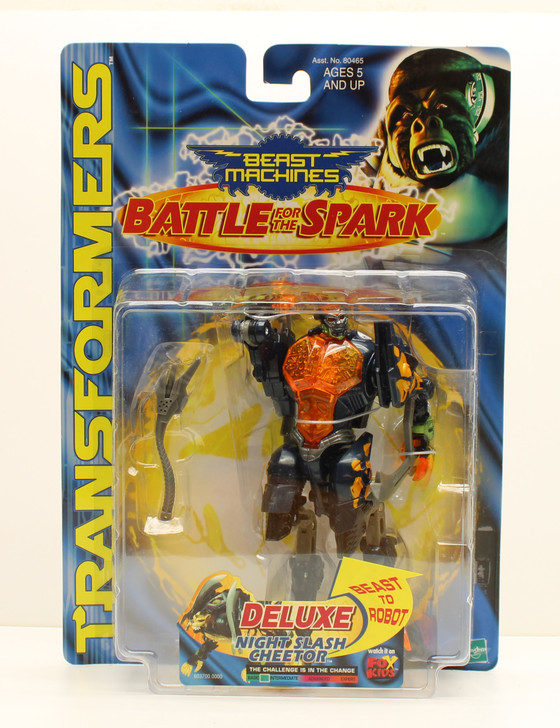 Hasbro Transformers Beast Machines Night Slash Cheetor