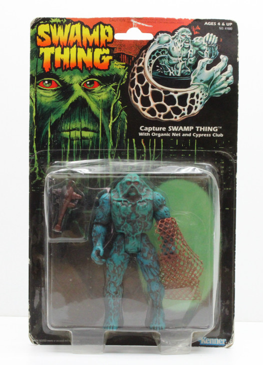 Kenner Swamp Thing Capture Swamp Thing Action Figure