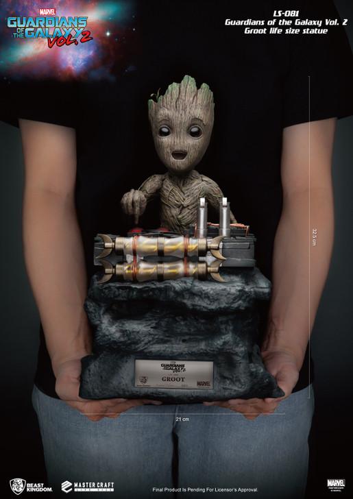 Beast Kingdom Guardians of the Galaxy Vol 2 LS-081 Groot Lifesize Statue