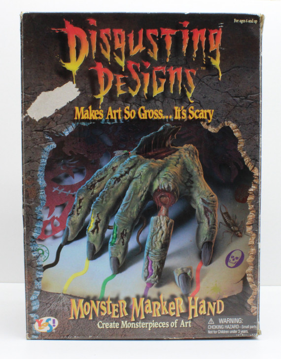Disgusting Designs Monster Marker Hand