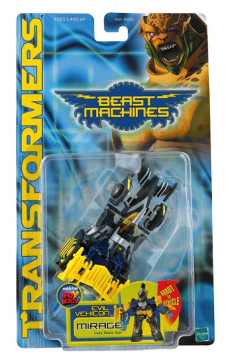 Hasbro Transformers Beast Machines Mirage