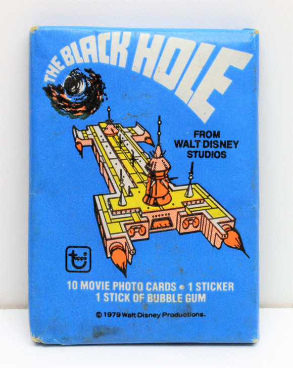 Topps  Disney The Black Hole (1979) Trading cards Wax pack