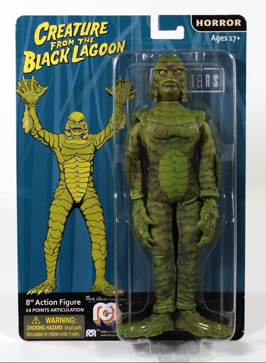 """Mego Action Figure 8"""" Universal Monsters Creature from the Black Lagoon"""