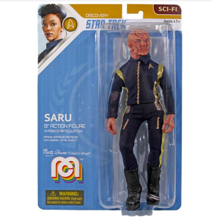 "Mego Action Figure 8"" Star Trek Discovery Saru"