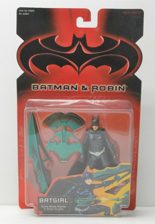 Kenner Batman & Robin Battle Blade Batgirl Action Figure
