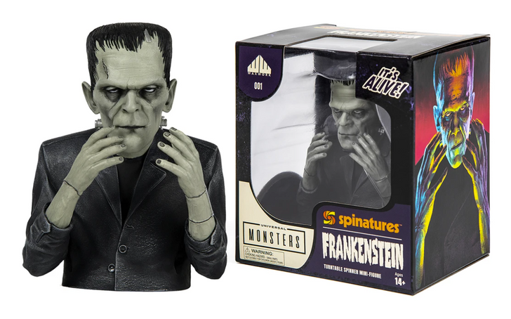 Waxwork Records Universal Monsters Frankenstein Spinature