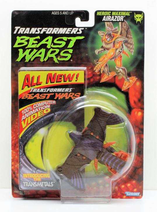 Hasbro Transformers Beast Wars Airazor with video tape
