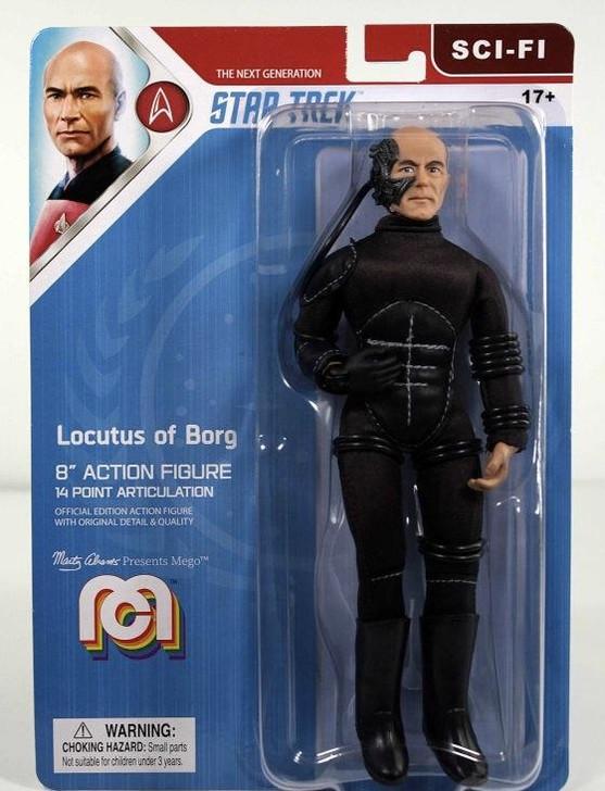 "Mego Action Figure 8"" Star Trek TNG Locutus"