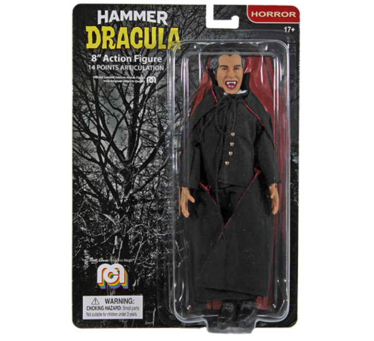 "Mego Action Figure 8"" Hammer Films Dracula"