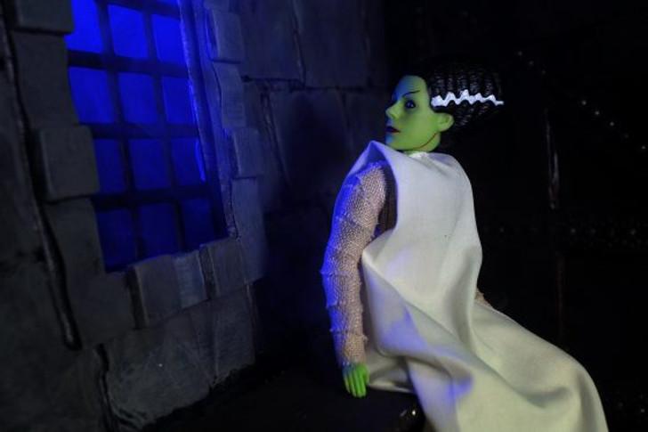 "Mego Action Figure 8"" Universal Monsters Bride of Frankenstein"