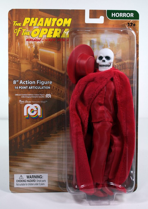 """Mego Action Figure 8"""" Masque of the Red Death"""