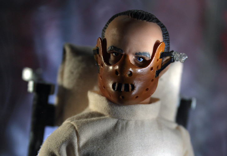 """Mego Action Figure 8"""" Hannibal in Straight Jacket"""