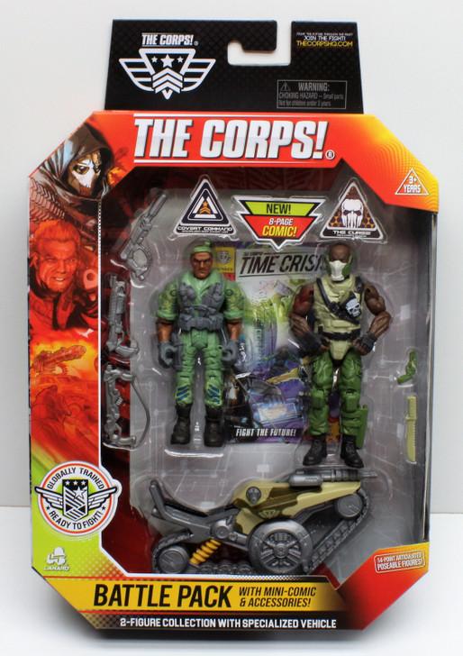 Lanard THE CORPS!  Fixer vs Titan Battle Pack