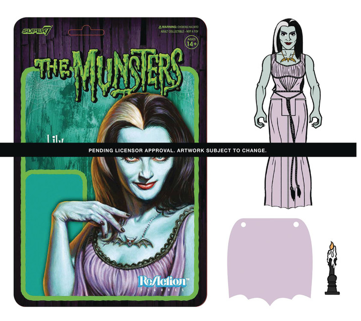 Super7 The Munsters Lily ReAction Figure
