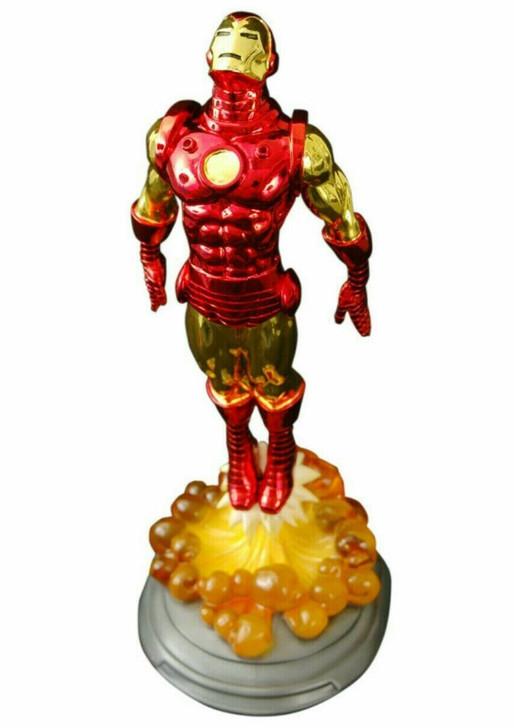 Diamond Select Marvel Milestones Electroplated Iron Man Statue