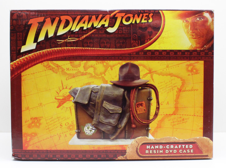 Indiana Jones Hand-Crafted Resin DVD Case