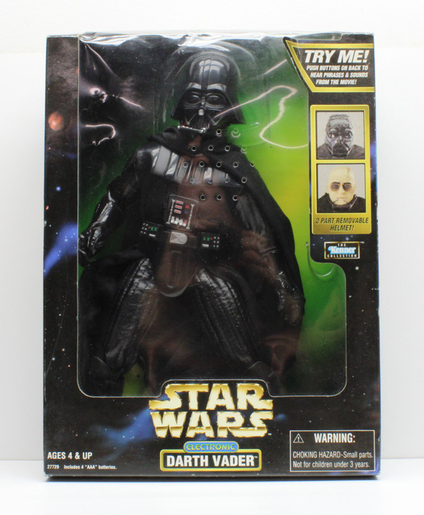 Kenner Star Wars Electronic Darth Vader 12in Action Figure (Open package)