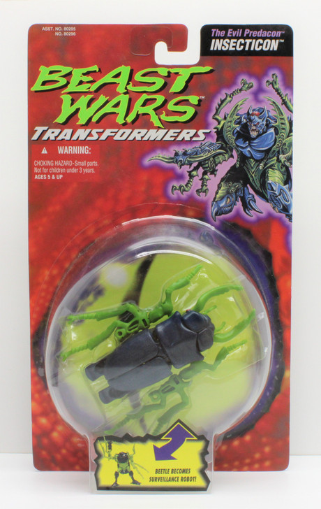 Hasbro Transformers Beast Wars Insecticon