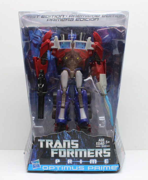 Hasbro Transformers PRIME Optimus Prime First Edition