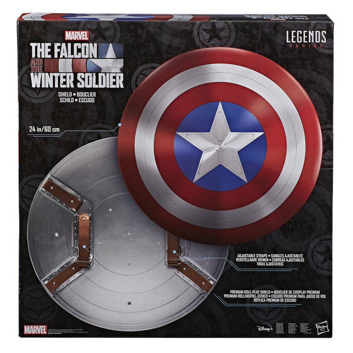 Hasbro Marvel Legends Gear Falcon and the Winter Soldier Captain America Shield
