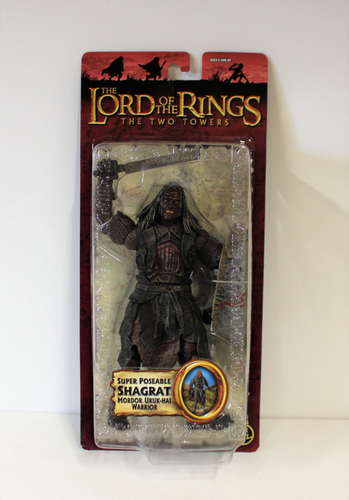 ToyBiz Lord of the Rings Shagrat Super Poseable Action Figure