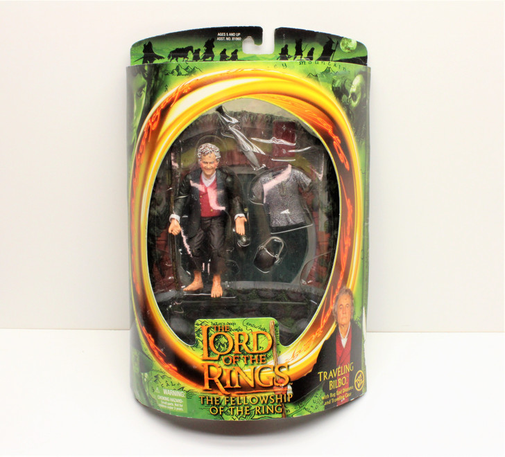 ToyBiz Lord of the Rings Traveling Bilbo (2001) Action Figure