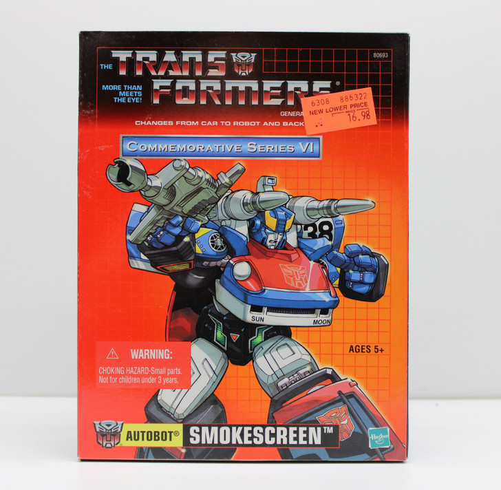 Hasbro Transformers Commemorative Series VI Autobot Smokescreen