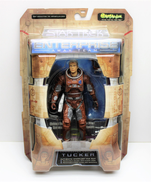Art Asylum Star Trek Voyager Away Team Tucker Action Figure