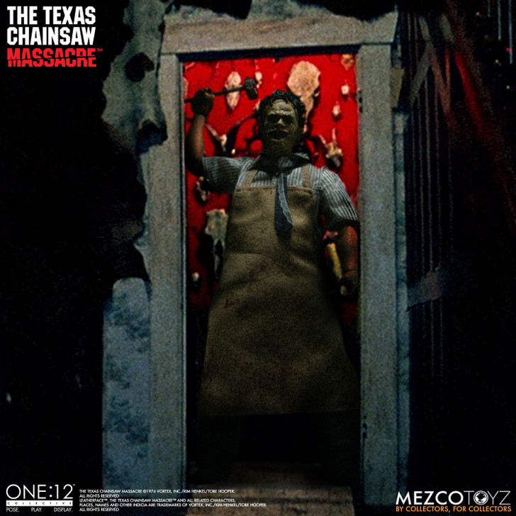 Mezco The One:12 Collective The Texas Chainsaw Massacre (1974): Leatherface - Deluxe Edition