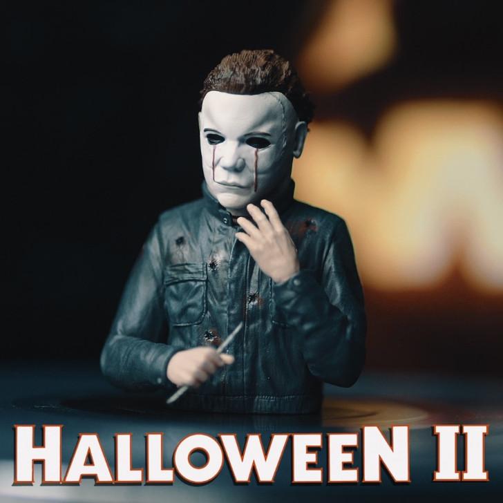 Waxwork Records Halloween II Michael Myers Spinature