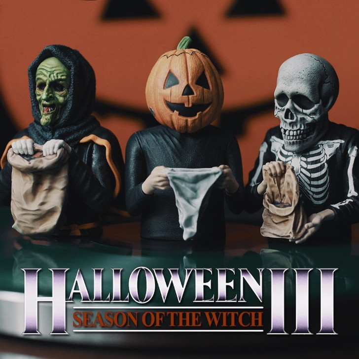 Waxwork Records HALLOWEEN III SEASON OF THE WITCH Spinature Set