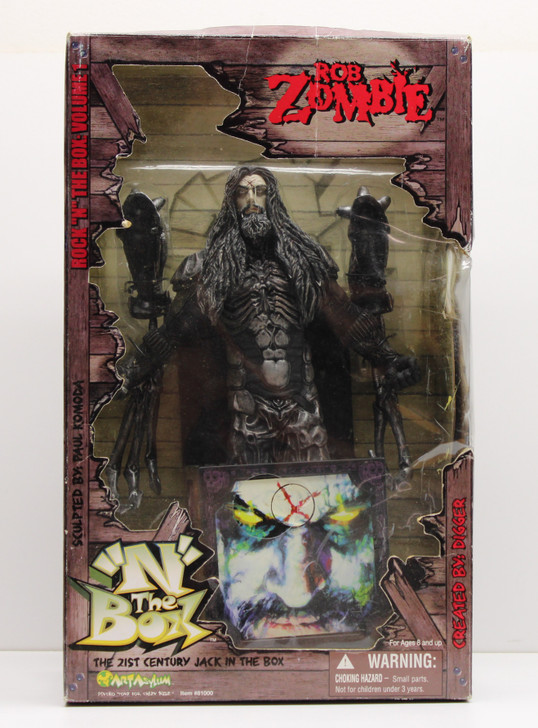 "Art Asylum Rock ""N"" The Box Rob Zombie Dragula (Open package)"