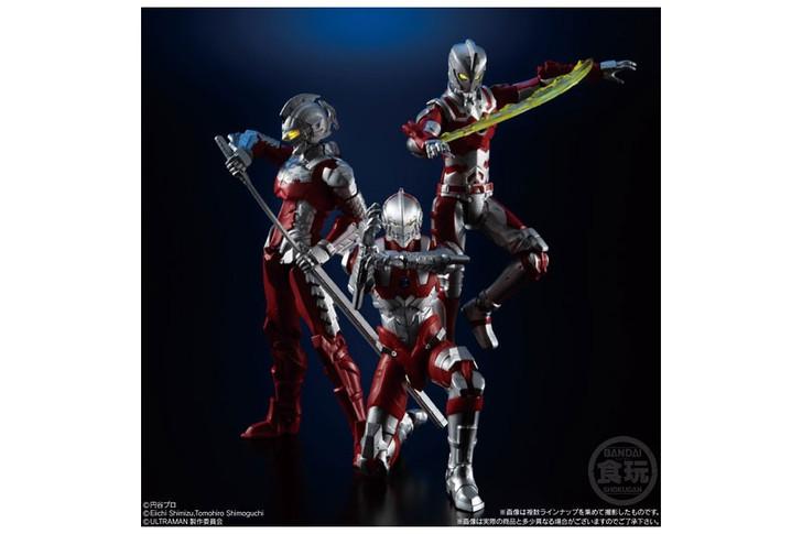 Bandai Choudou HEROS ULTRAMAN Set of 4