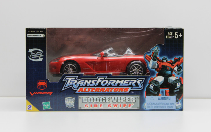 Hasbro Transformers Alternators Dodge Viper Side Swipe