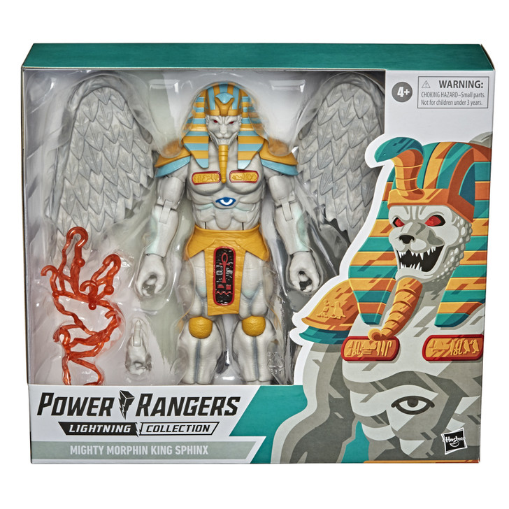 Hasbro Power Rangers Lightning Collection King Sphinx